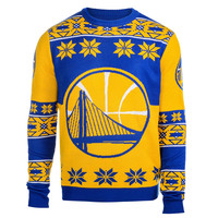 Golden State Warriors Forever Collectibles KLEW Big Logo Ugly Sweater Size XL w/ Priority Shipping