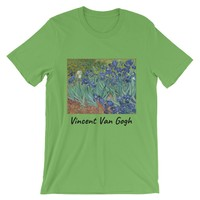Vincent Van Gogh Irises Short-Sleeve Unisex T-Shirt