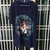 Vintage 90s Bruce Lee / America Actor T Shirt Size M