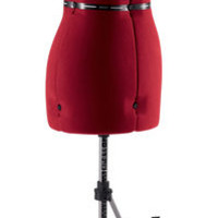 Singer® Adjustable Small/Medium Dress Form, Red