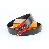 Hermes belt men's and women's casual casual style H letter fashion belt298