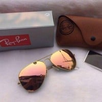 Cheap NEW AUTHENTIC RAY-BAN AVIATOR RB3025 019/Z2 55MM COPPER PINK LENS GOLD outlet