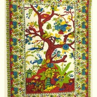 Native Purity Tree of Life Tapestry #60 and #72