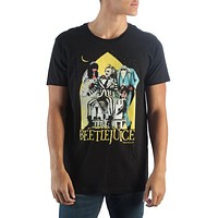 Beetlejuice Mens Black T-Shirt
