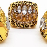 1994 49ers full crystal rings #YOUNG