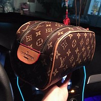 LV Louis Vuitton Popular Women Shopping Leather Handbag Satchel Cosmetic Bag