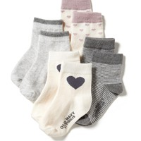 Crew Sock 4-Pack for Baby | Old Navy
