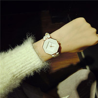 Women's Watch Simple And Delicate Temperament Exquisite Square Watch Strap Fresh Female Watch