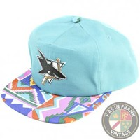 San Jose Sharks Fresh Prince Snapback Hat | F as in Frank Vintage Clothing