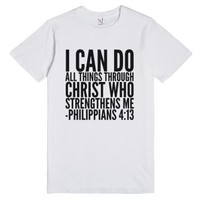 I Can Do All Things Through Christ Who Strengthens Me Philippians 4...