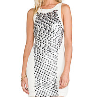 bless'ed are the meek Fleck Dress in Ivory