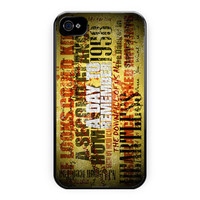 A Day To Remember Song iPhone 4/4S Case