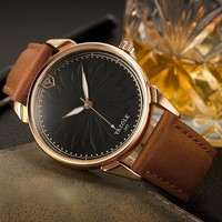 Awesome Good Price New Arrival Great Deal Gift Trendy Designer's Stylish Simple Design Quartz Gifts Watch [281920536605]
