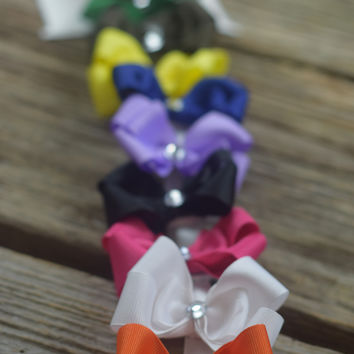 Set of 10 Bows by Mandy Lou {See pic for colors}
