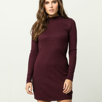 RVCA Womens Mock Neck Dress