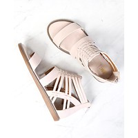 Final Sale - BC Footwear - Half Pint Sandals in Nude