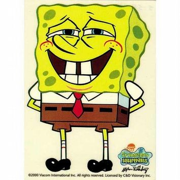 Spongebob - Big Grin Sticker