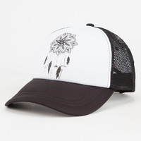 O'neill Catchin Dreams Womens Trucker Hat Black/White One Size For Women 26547912501