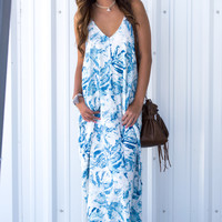 Seacliff Mila Blue Maxi Dress