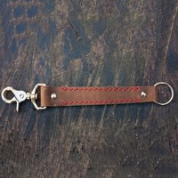 Leather Key Leash Lanyard
