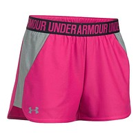 Women's Play Up 2.0 Shorts in Tropic Pink by Under Armour