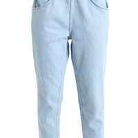 L8 SLOUCHY PULL ON - Relaxed fit jeans - l8 andie @ Zalando.nl 🛒