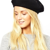 French Connection Stud Beret