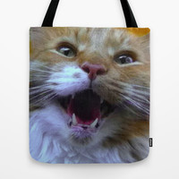 Rawr Tote Bag by MiMo - Prints & Pillows