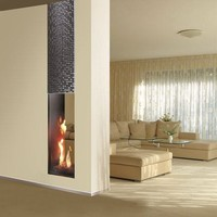 Gas Fireplace insert ROMA | Double-sided Fireplace insert by ITALKERO