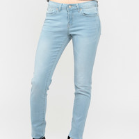 Light Whiskered Stretchy Skinny Jean