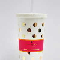 Gold Dots Insulated Tumbler: Kate Spade