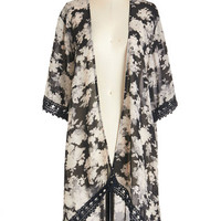 ModCloth Boho Long 3 Outpouring of Love Jacket
