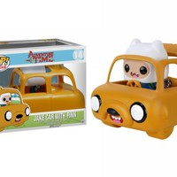 Kirin Hobby : POP! Rides Adventure Time: Jake Car & Finn Vinyl Figure by Funko 849803069797
