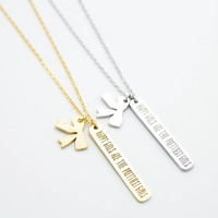 Happy Girls necklace