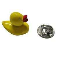 Yellow Rubber Ducky Lapel Pin [Jewelry]