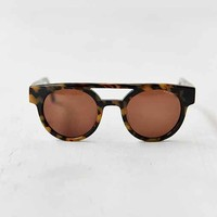KOMONO CRAFTED Dreyfuss Tort Demi Sunglasses- Brown One