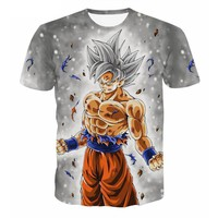 Casual 3D Cloth Dragon Ball T-Shirt