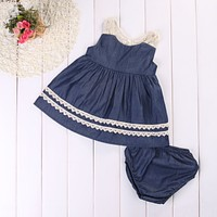 Toddler Kids Baby Girls Summer Lace Princess Dress Party Wedding Pageant Dresses baby girl clothes newborn baby girl clothes