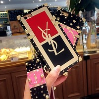YSL Fashion iPhone Phone Cover Case For iphone 6 6s 6plus 6s-plus 7 7plus iPhone8