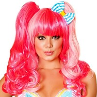 Sexy Candy Land Wig Halloween Accessory