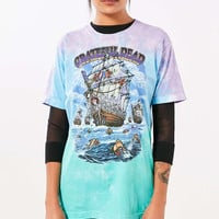 Grateful Dead Ship Of Fools Tie-Dye Tee - Urban Outfitters