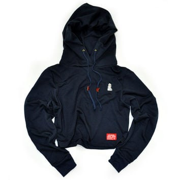 Signature Maddie Hooded Popover (Navy)