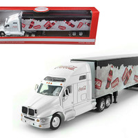 Coca Cola On Ice Tractor Trailer 1/64 Diecast Model by Motorcity Classics