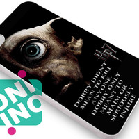 Harry Potter and the deathly hallows dobby iPhone Case Cover   iPhone 4s   iPhone 5s   iPhone 5c   iPhone 6   iPhone 6 Plus   Samsung Galaxy S3   Samsung Galaxy S4   Samsung Galaxy S5