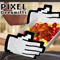 Pixel Hands Mouse Pointer Mittens:Amazon:Toys & Games