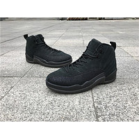 Air Jordan Retro 12 OVO Black Basketball Sports Retro 12s For Sneakers Athletic Shoe