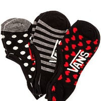 The Dough Eyes Canoodle Socks in Hearts and Dots