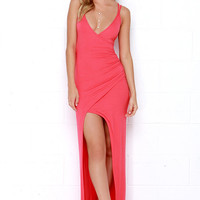 Anaconda Coral Maxi Dress