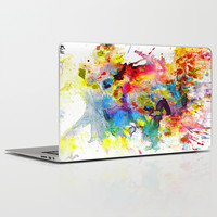 Crazy Chaotic Series 1999.033114 Laptop & iPad Skin by KrisHaas-EXP-Art