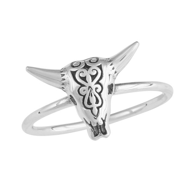 Single Logo Style College Jewelry Tulane University Green Wave Ring Stainless Steel 8MM Wide Band